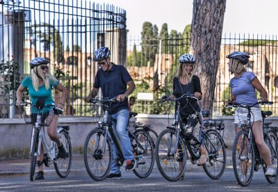 Highlights of Rome e-bike tour by Rome in a Day Tour