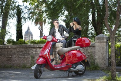 Selfie Vespa tour in Rome By Rome in a Day Tours